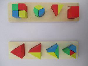 ダイソー 木製パズル1
